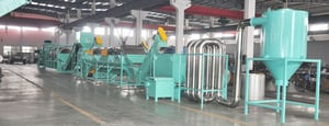 PP, PE Film and Bag Crushing And Washing Line