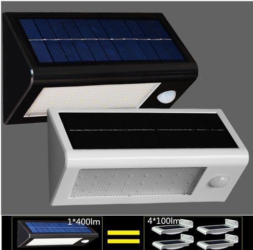 Solar Panel LED Flood Security Solar Garden Light PIR Motion Sensor