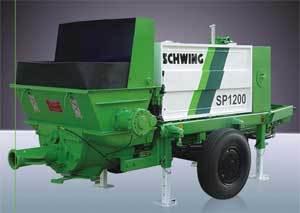 Schwing Concrete Pump Sp 1200 In Kanchipuram Tamil Nadu Schwing