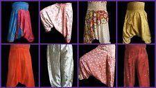 Silk Alibaba Harem Paints Trouser Afghani Boho Gypsy Pants