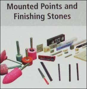 Mounted Points And Finishing Stones