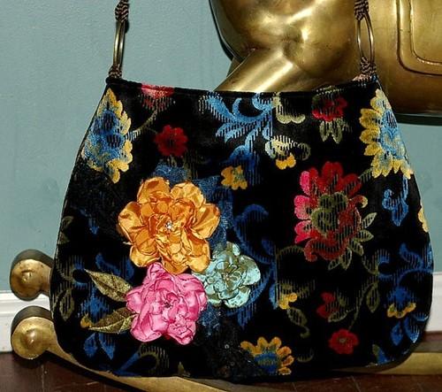 Velvet Bag Fabric Lamination