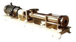 Progressing Cavity Type Screw Pumps