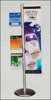 Brody Showroom Brochure Stand