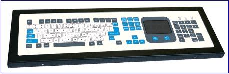 Industrial Computer Keyboard (LP 2443)