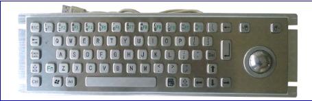 Metal Keyboard (LP 2519)
