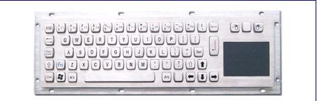Metal Keyboard (LP 3054 TP)