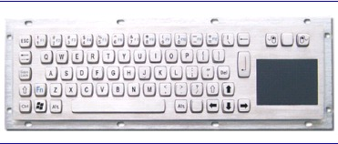 Metal Keyboard With Touchpad (LP 3054 TP)