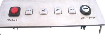 Vandal Resistant Keyboard (LP 2157)