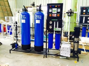 Industrial And Commercial RO Plant
