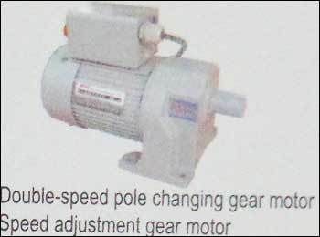 Double Speed Pole Changing And Speed Adjustment Gear Motor