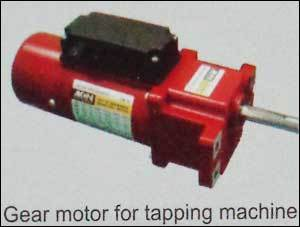 Gear Motor For Tapping Machine