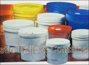 Plastic Pails And Containers