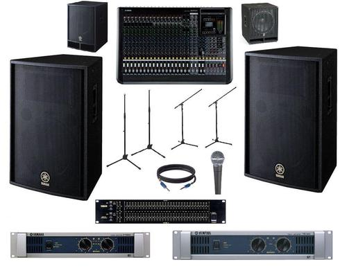 Yamaha PA System Package - Professional Band Setup at Best