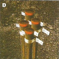 Earthing Electrodes With Funnel