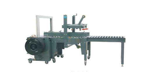 Automatic Packing Line a   Box Strapping Machine