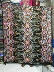Designer Pattern Perlaz Boubou Fabric in  Chembur