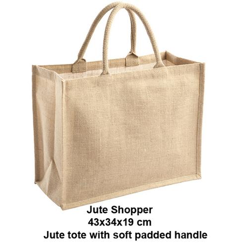 Jute Tote Bag Mlg International
