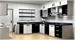 Trendy Veneer Modular Kitchen