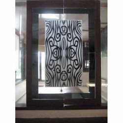 Lacquered Etching Glass