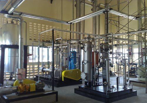 Bio Mass Based Carbon Di-Oxide Production Plant