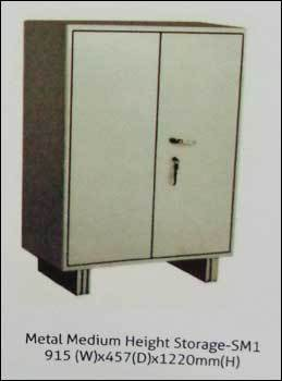 Metal Medium Height Storage