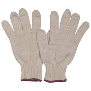 Colorful Cotton Knitted Safety Gloves