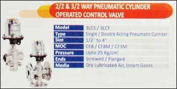 2/2 And 3/2 Way Pneumatic Cylinder