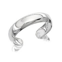 Ladies Silver Toe Ring