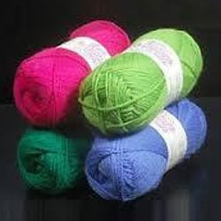 Wool Blended Worsted Yarns