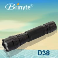 Brinyte Aluminum Powerful Waterproof Military LED Torch