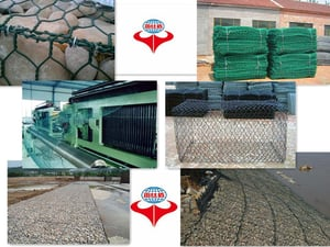 Hot Dipped Galvanized And PVC Coated Gabion Box
