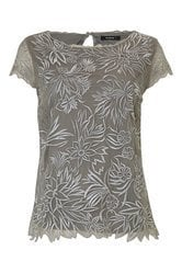Ladies Embroidered T Shirt Top