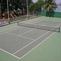 Tennis Court Parquet Flooring