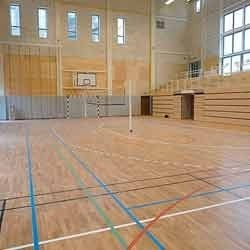 Wooden Court Flooring
