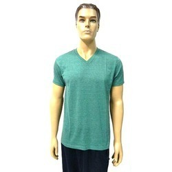39c80f00b Mens V Neck T-Shirt - Sri Ramakrishna Knitting Works, 5/3, anjal nagar, 3rd  street, kumaranandapuram, , Tirupur, India