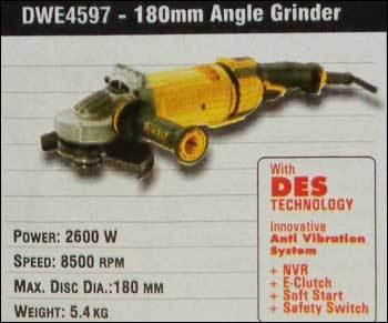 180mm Angle Grinder (DWE4597)