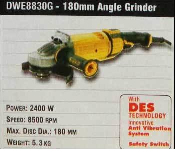180mm Angle Grinder (DWE8830G)