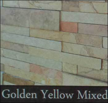 Golden Yellow Mixed Stacking Stone