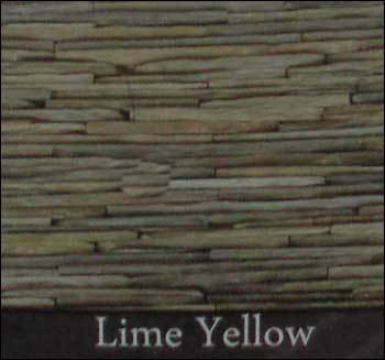 Lime Yellow Raw Finish