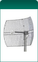 2.4GHz 24 dBi Grid Subscriber Antenna