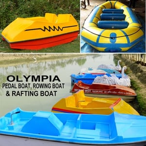Olympia Pedal and Rafting Boat
