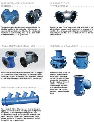 Rubberized Steel Branching Pipes