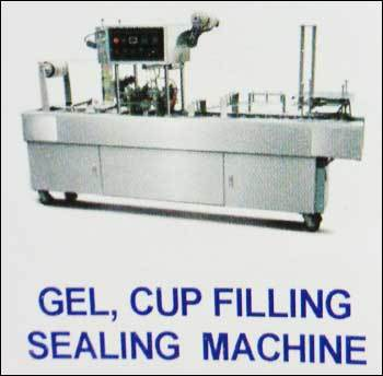 Gel Cup Filling Sealing Machine in  New Area