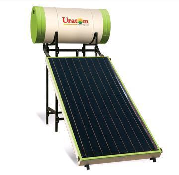 Solar FPC Non Pressurised Water Heating System - Uratom Solar India ...