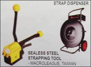 Sealess Steel Strapping Tool Apt Tools Machinery India Private