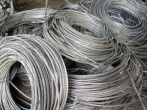 99.7% Purity Silver White Aluminum Wire Scrap