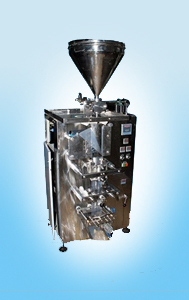 Pouch Packaging Machine For Ginger Garlic Paste