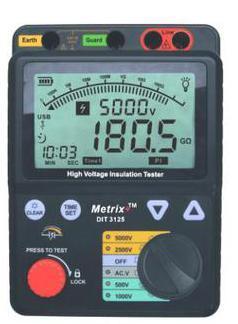 Digital Insulation Tester (Dit-3125)