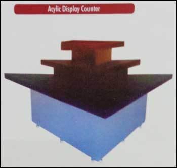 Acrylic Display Counter